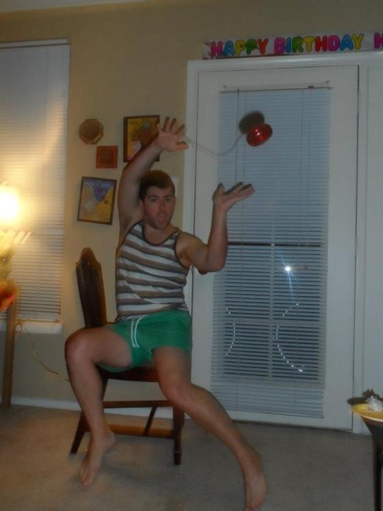 Andy with a Yo-Yo in Austin, TX
