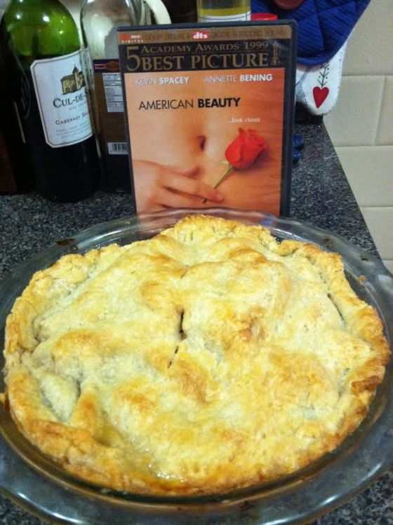 American Beauty and pie