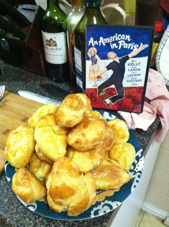 american in paris and cream puffs