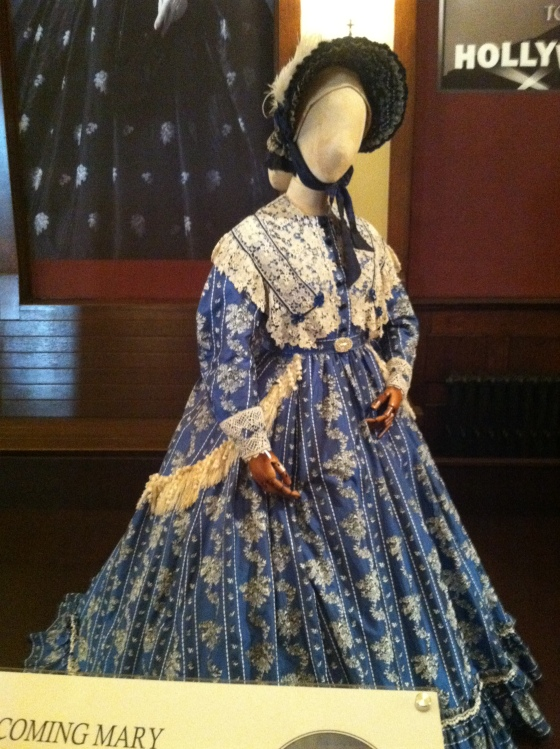 One of Sally Field's costumes from Lincoln