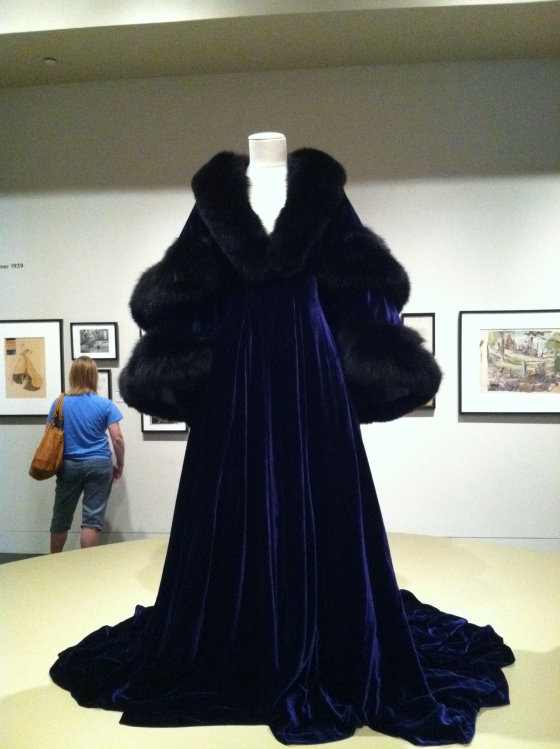 The world's most glamorous robe
