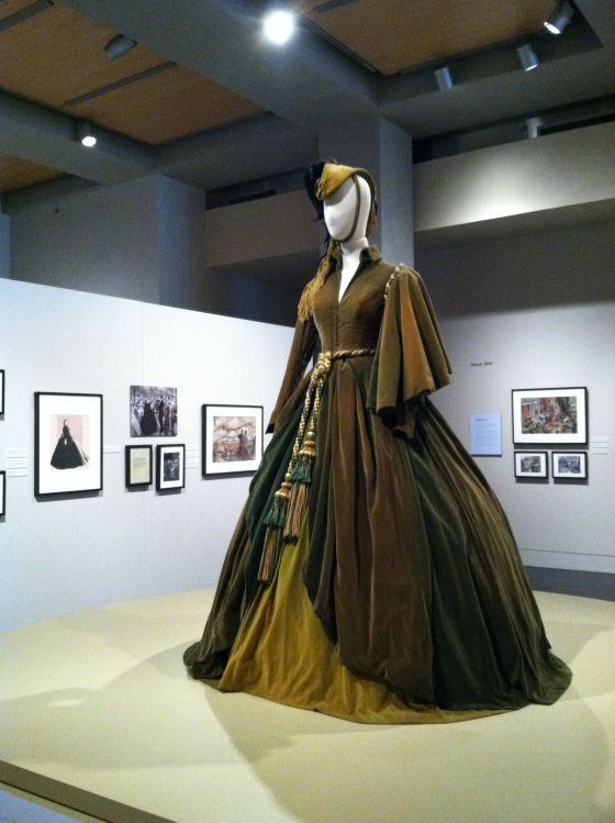 The curtain dress - designed by Walter Plunkett