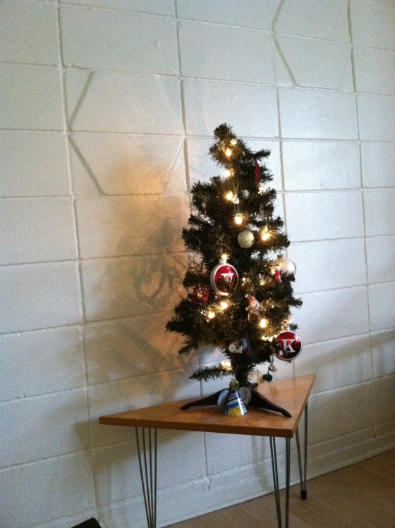 Our almost finished Christmas tree! - I still need to find this year's topper - any suggestions?