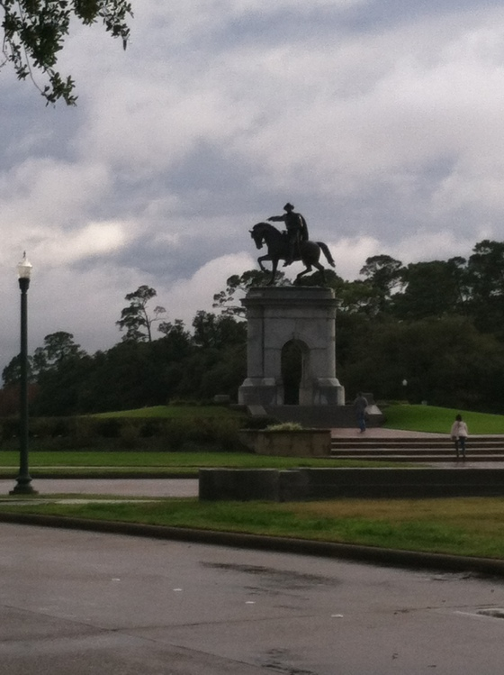 Mr. Sam Houston himself (we think)