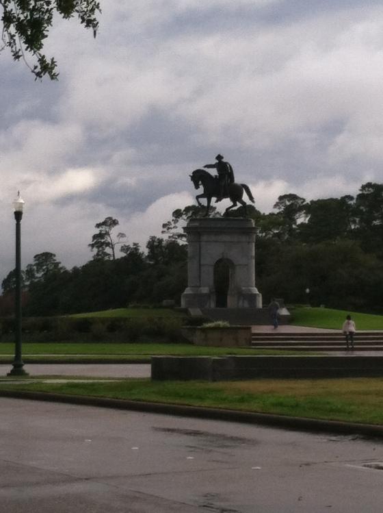 Mr. Sam Houston himself (we think)
