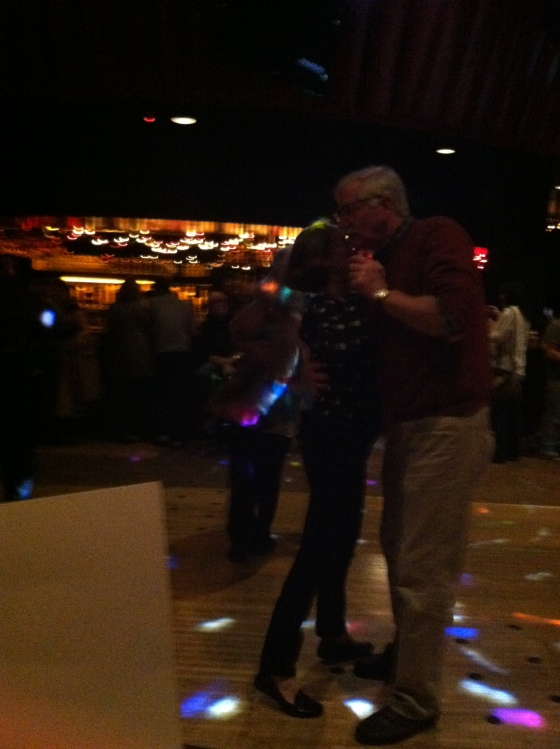And my parents danced and were adorable