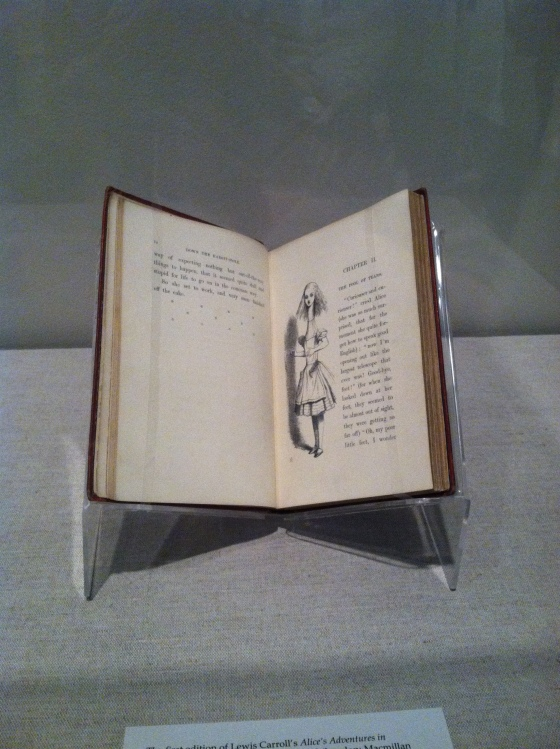 A first edition - with John Tenniel's original illustrations