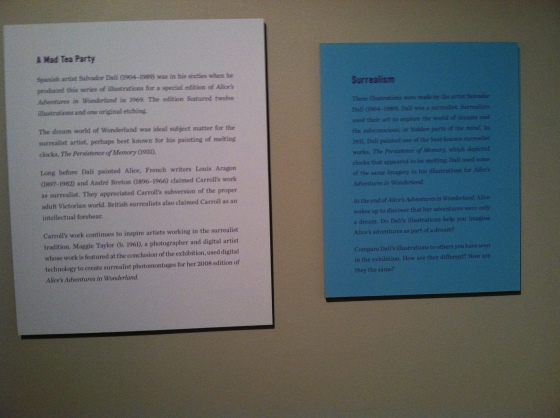Side by Side adult/kids exhibit info