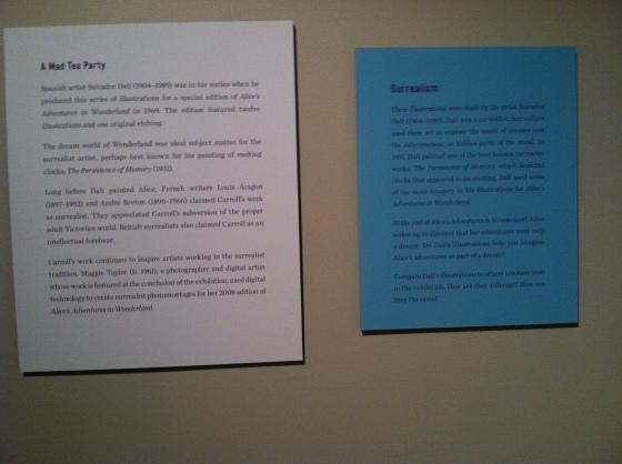Side by Side adult/kids exhibit info