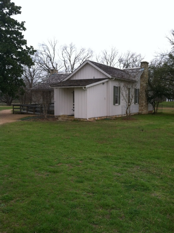 And here is the truly isolated house LBJ was born in
