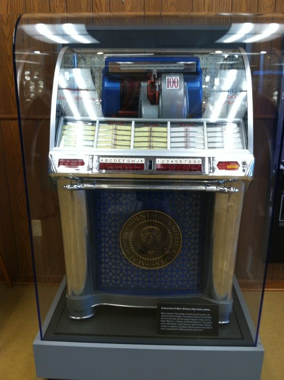 The Presidential Jukebox - there was a song or 2 for each state.