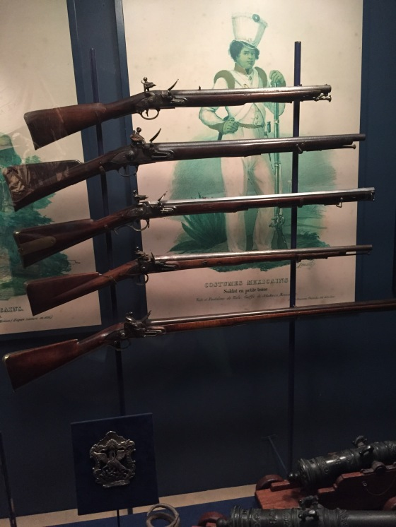 Two for Two on gun displays in museums for this class