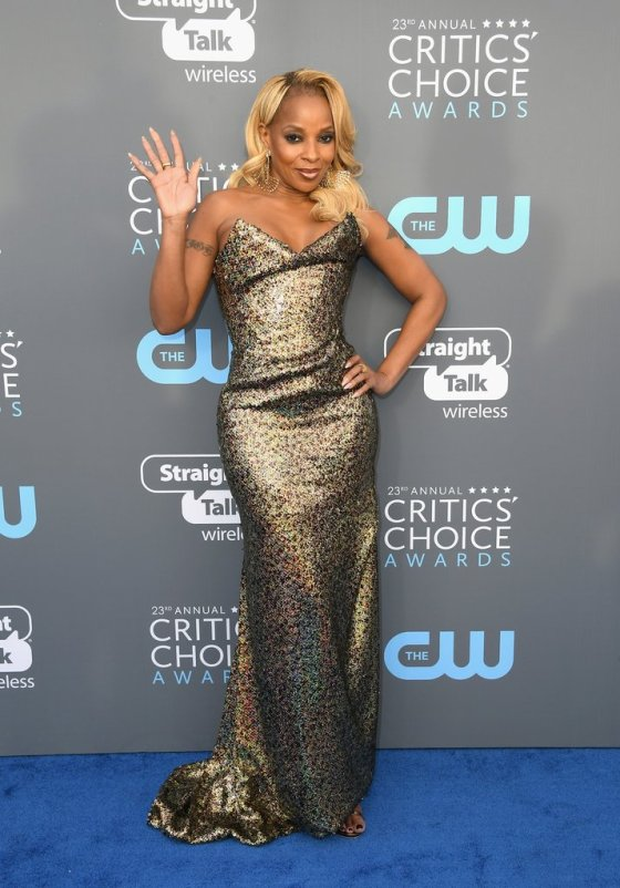 Mary-J-Blige-2018-Critics-Choice-Awards