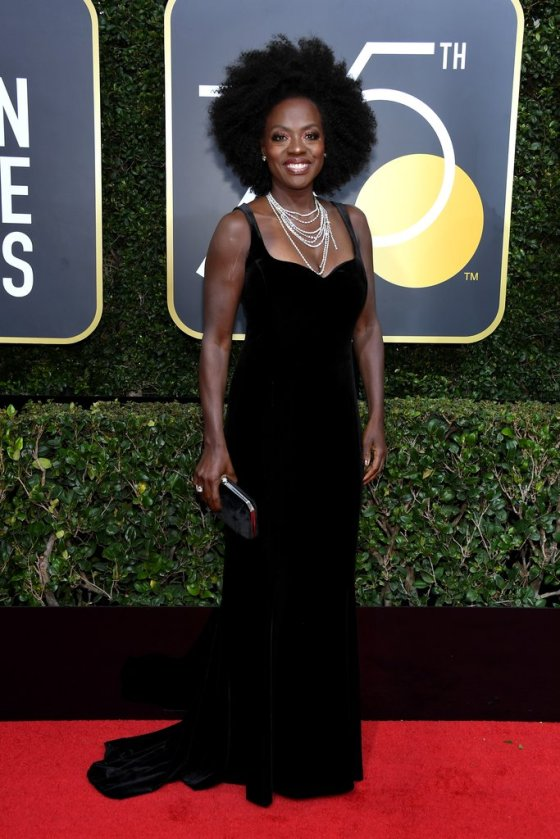 Viola-Davis-Natural-Hair-2018-Golden-Globes
