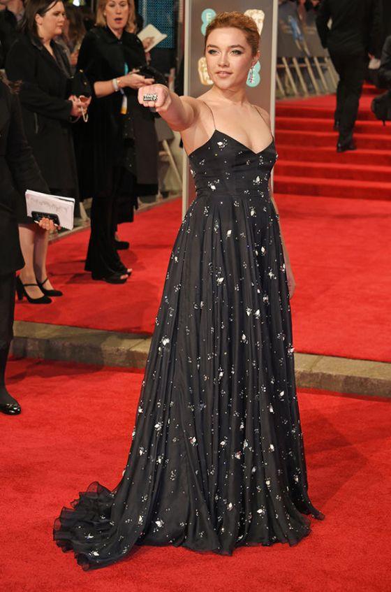 BAFTAs-2018-Florence-Pugh-red-carpet-dress-1238158
